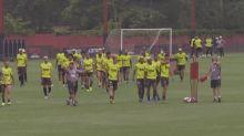 Flamengo se prepara para Mundial de Clubes
