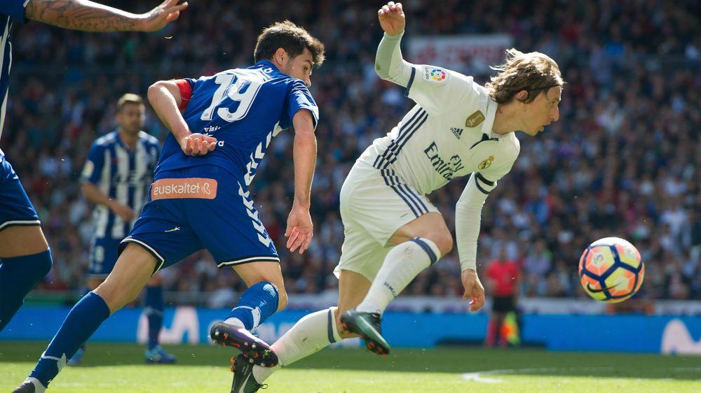 " Zidane defiende a Modric: ""Él no me preocupa"""