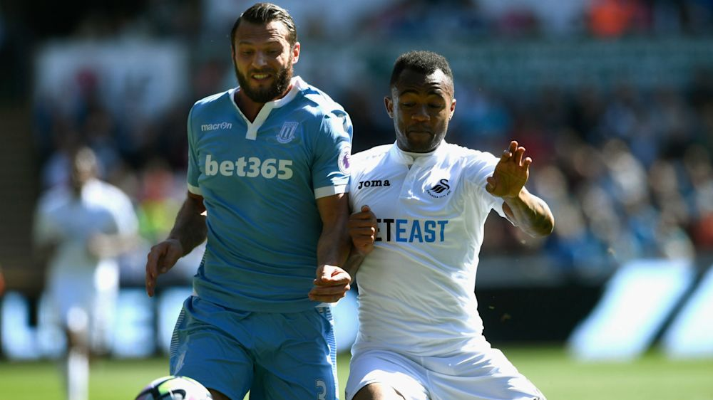 Jordan Ayew grabs second assist as Swansea eye survival