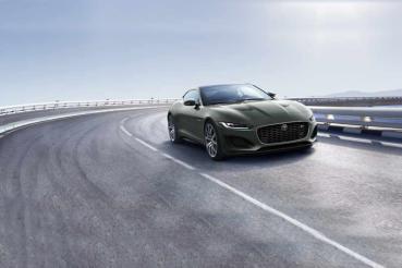 吹起復古風,Jaguar推限量F-Type Heritage 60 Edition向E-Type致敬