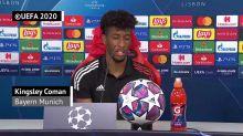 Finale - Coman refuse la comparaison avec Ribéry