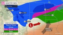 Late-week storm to wallop central US with snow and gusty winds