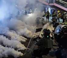 Hong Kong Tempts China's Ire as Protests Take More Violent Turn