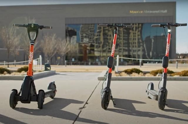 Spin will test scooters with remote parking capabilities this spring