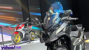 意想不到的移動面貌!Kymco RevoNEX、F9電動機車台灣首現,CV3預約2021年量產販售!