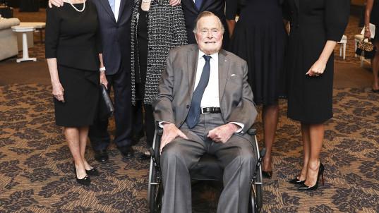 George H.W. Bush admitted to Houston hospital