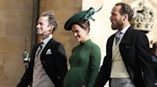 Pregnant Pippa Middleton makes surprise appearance at Princess Eugenie's wedding days before giving birth
