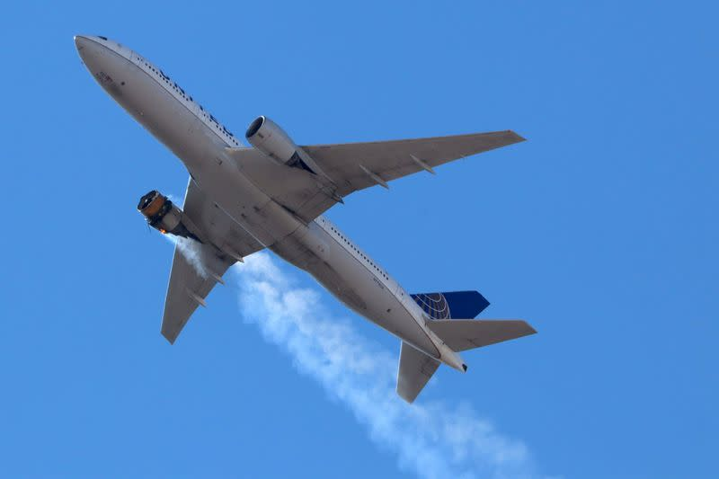 Damage to United Boeing 777 engine consistent with metal fatigue: NTSB