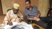Olivier Sultan, galeriste d'art africain contemporain