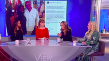 Meghan McCain gets unlikely support for Women's March grilling on 'The View' but is also accused of 'white woman privilege'