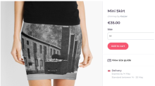 Website Condemned For Selling Auschwitz-Themed Miniskirts, Pillows And Tote Bags