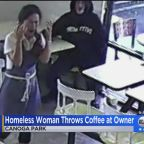 Homeless woman arrested after allegedly throwing coffee in doughnut shop owner's face: 'It was so malicious and so barbaric'