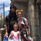 Kids at Disney World thought Sharks' Brent Burns was a pirate, and who can blame them