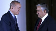Erdogan says he won't let a peace deal hurt Turkish Cypriots