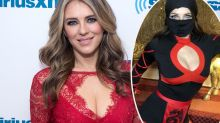 Liz Hurley, 54, transforms into sexy 'ninja' for fancy dress party