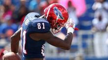Florida Atlantic suspends leading receiver in 2016 after battery charges (Updated)