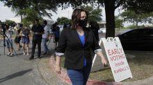Cornyn, Hegar clash over virus, court in Texas Senate debate