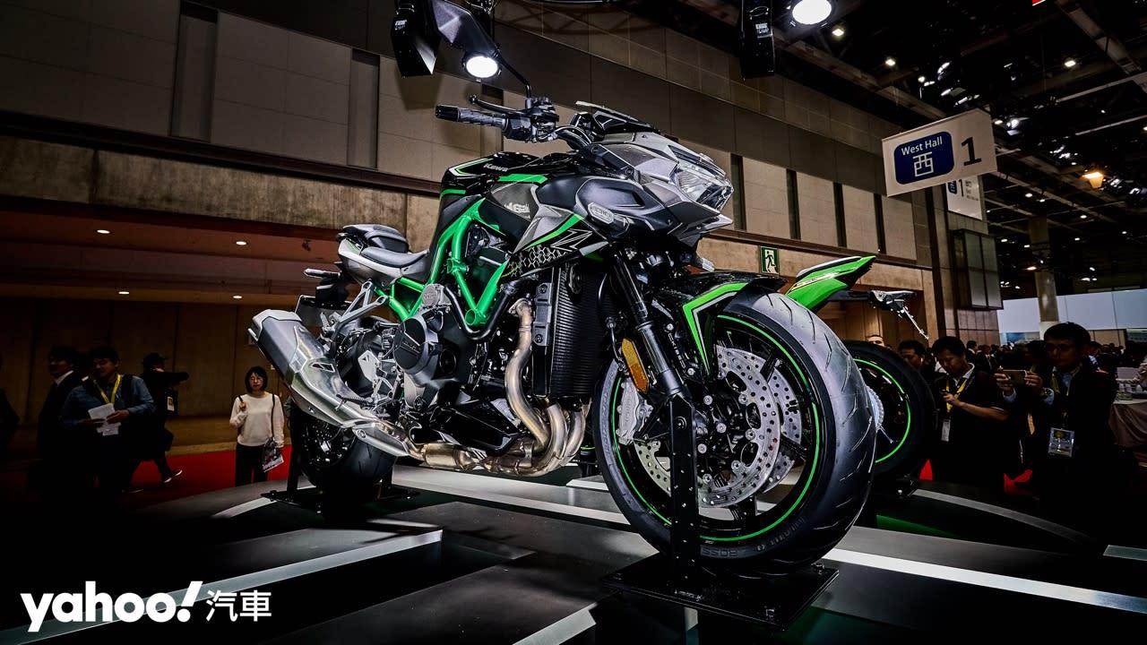 【東京車展】Kawasaki機械增壓新成員Z H2正式亮相!