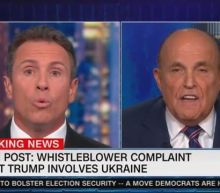 Giuliani Admits He Asked Ukraine About Biden Seconds After Denying He Did in Insane CNN Interview