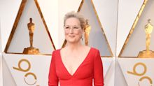 Meryl Streep wore one of the most revealing gowns at the Oscars (seriously)