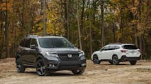 2020 Subaru Outback vs. 2019 Honda Passport in Photos