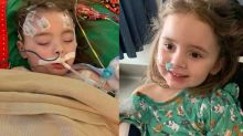 'It was almost an instant thing': 4-year-old girl regains sight after being temporarily blinded by the flu