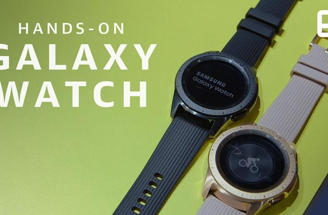 Samsung Galaxy Watch hands-on: Steady progress but few thrills