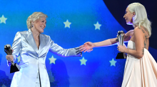 4 moments that made Lady Gaga and Glenn Close's tie really awkward