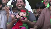 Afghans dance their way into World Cup finals
