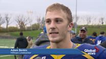 Saskatoon Hilltops fall to Calgary Colts 34-4
