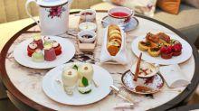 香港朗廷酒店 ✾ Palm Court at Langham ✾ 花香滿廊下午茶
