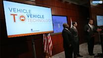 U.S. Moving To Require Cars To Talk To Each Other