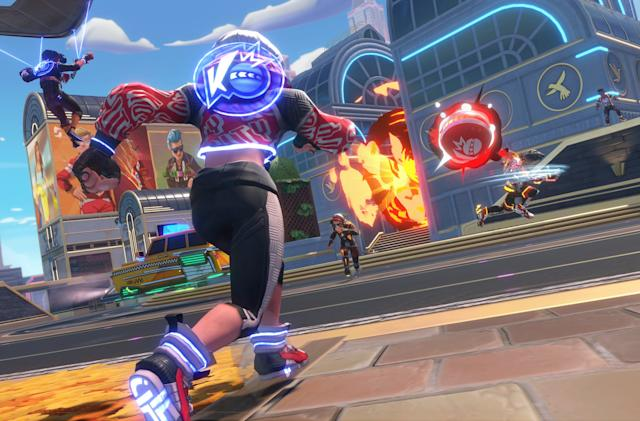 'Knockout City' is a cross-platform dodgeball brawler from Velan and EA