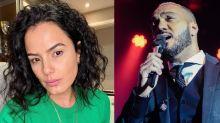 """Luciele Di Camargo lembra dívida de R$ 6 milhões e alfineta Belo: """"Tal pai, tal filha"""""""
