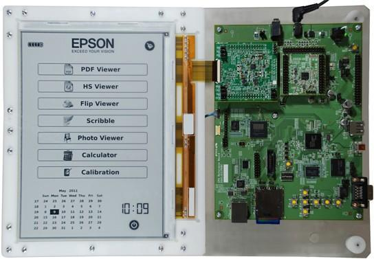 E Ink and Epson to co-develop 9.7-inch high-res 300ppi electronic paper display