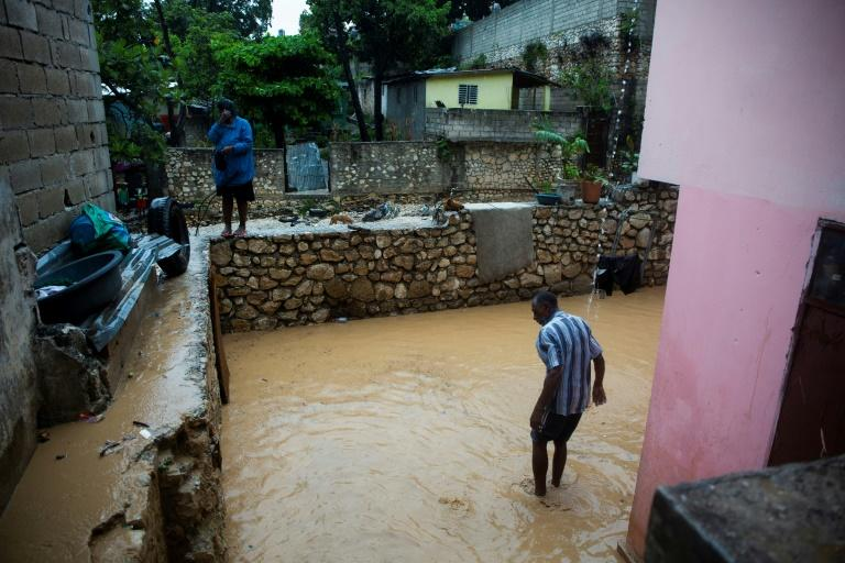 Flooding has been severe in places like the Pétion ville neighborhood of Port-au-Prince, Haiti