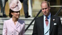 Duchess of Cambridge wears McQueen for Buckingham Palace garden party