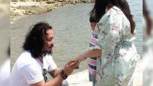 Baron Geisler has proposed to psychologist girlfriend
