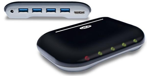 LaCie's Hub4 quadruples your USB 3.0 pleasure