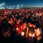 Florida community holds massive vigil to honor victims of Parkland school shooting