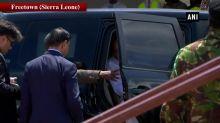 VP Naidu departs for Delhi from Sierra Leone's Freetown
