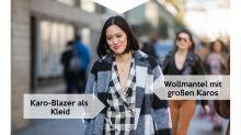 Look des Tages: Fashion-Einkäuferin Tiffany Hsu ganz und gar nicht kleinkariert