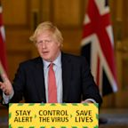 Families and friends reunited as Boris Johnson eases lockdown rules