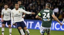 Ligue 1:  Revivez la victoire du PSG à Saint-Etienne grâce à une volée magique de Kylian Mbappé (0-1)