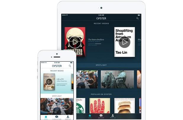 Oyster's subscription e-book service launches on iPad, goes invitation-free