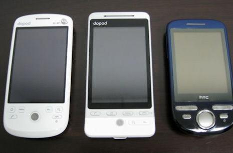 HTC Hero and Click coming to China under Dopod brand