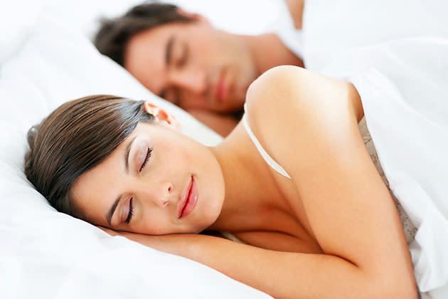 Schlafposition Beziehung
