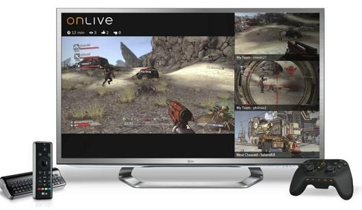 OnLive coming to browsers, smart TVs with more viewing capabilities