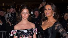 Catherine Zeta-Jones and Daughter Carys Zeta Douglas, 14, Twin at Fancy Fashion Event