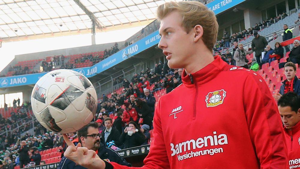 Leverkusens Julian Brandt muss Training mit Knieverletzung abbrechen